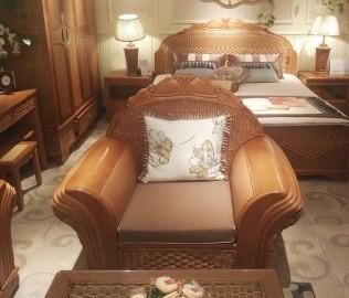 藤匠世家,沙发,单人沙发