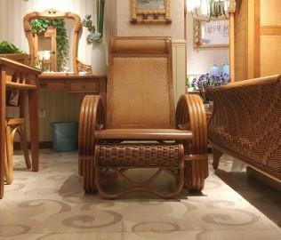 藤匠世家,沙滩椅,藤式家具