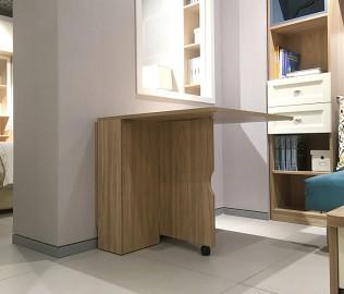 曲美家居,折叠餐桌,板材家具