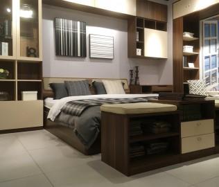 曲美家居,床,卧室家具