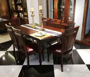 光明家具,实木餐桌,餐桌
