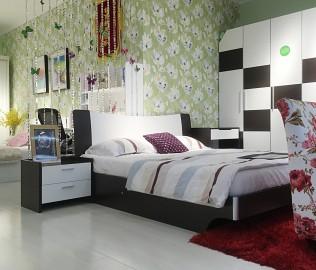 绿芝岛,低箱床,卧室家具