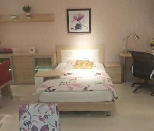 绿芝岛,床,单人床