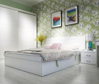 绿芝岛,高箱床,卧室家具