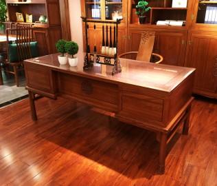光明家具,实木书桌,书桌