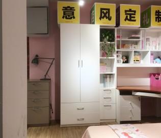 意风家具,书柜,板式书柜
