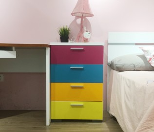 意风家具,四屉柜,板式屉柜