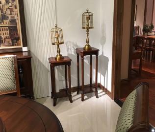 光明家具,实木花架,花架