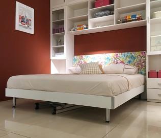 东方百盛,加大床,卧室家具