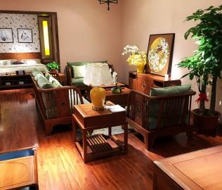 光明家具,实木沙发,单人沙发