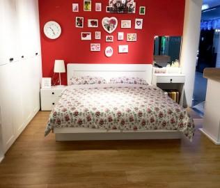 斯普丽,板材床,双人床