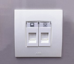 ABB,PC插座,电话插座
