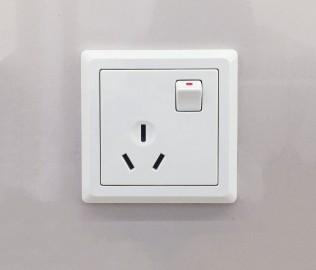 ABB,PC插座,三孔插座