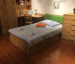 小桔灯,床屉,床