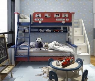 多喜爱,上下床,儿童床