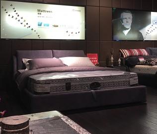 康德芙瑞,双人床,卧室家具