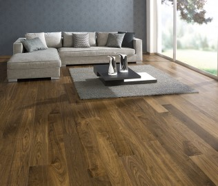德尔地板,实木复合,适于地暖