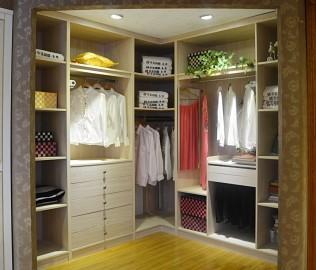 华美风情,衣帽间,门厅柜