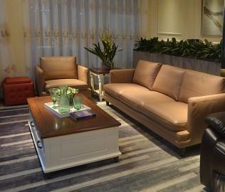 顾家家居,单人沙发,真皮沙发