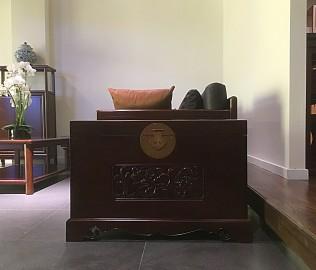 祥华坊,樟木花箱,古典家具