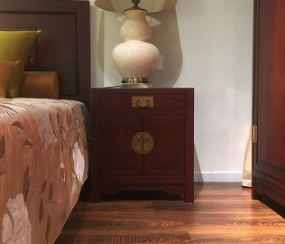 祥华坊,床头柜,古典家具