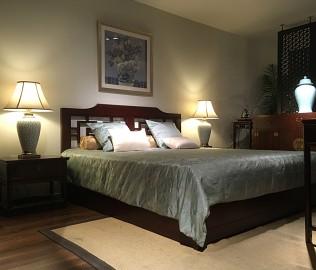 祥华坊,双人床,古典家具