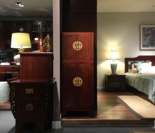 祥华坊,二节柜,古典家具