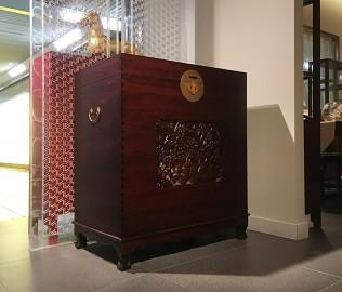 祥华坊,樟木花柜,古典家具
