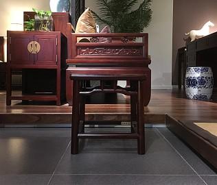 祥华坊,梳妆凳,古典家具