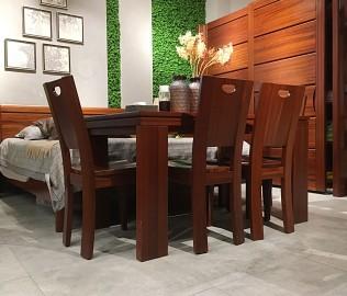 意风家具,一桌四椅,实木家具