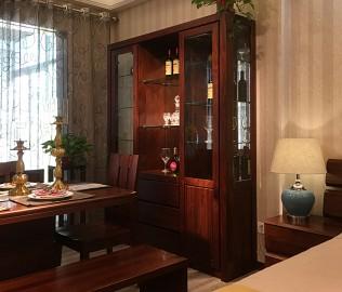 江南宜家,三门酒柜,客厅家具