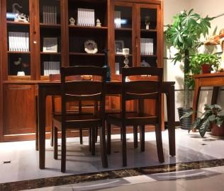莫霞家居,一桌四椅,家具组合