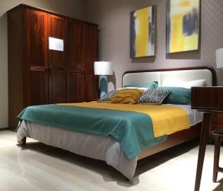 绿芝岛,床,卧室家具