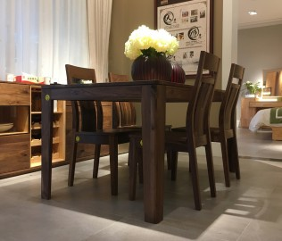百强家具,一桌四椅,餐厅家具