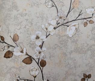 山花地毯,纯纸壁纸,墙纸