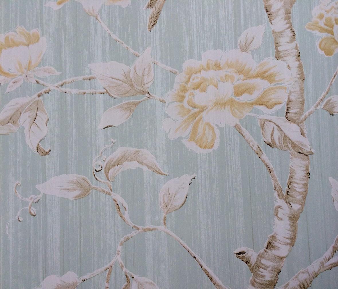 山花地毯 兰亭序系列la76185型号纯纸壁纸 绿色环保