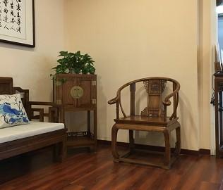 瀚明轩,圈椅,单椅