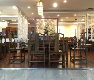 瀚明轩,花格椅子,实木家具