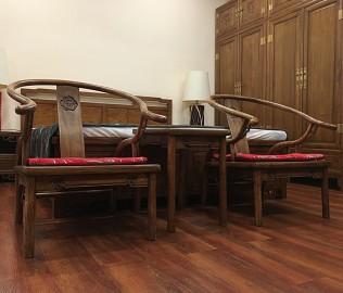 瀚明轩,休闲圈椅,客厅家具