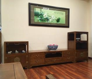 瀚明轩,低组柜,客厅家具