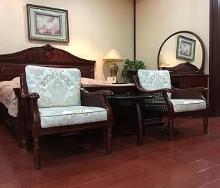 大连华丰,休闲椅,实木家具