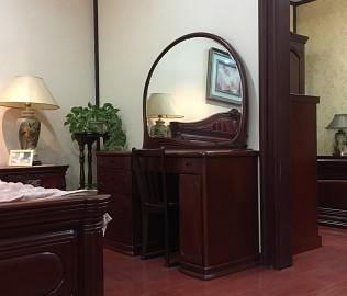 大连华丰,梳妆椅,实木家具