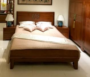 瑞尔,床,实木床