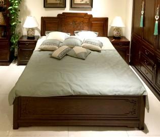 瑞尔家具,箱式床,实木床