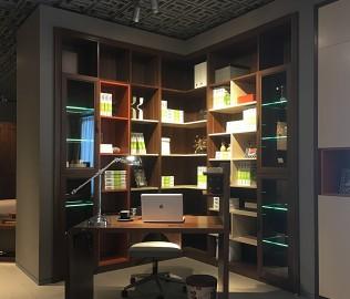 曲美家居,书柜,板材柜子