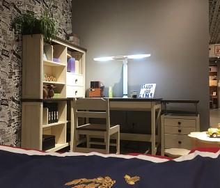 曲美家居,学习桌,榉木桌子
