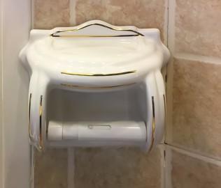 圣托玛斯,纸缸,浴室挂件