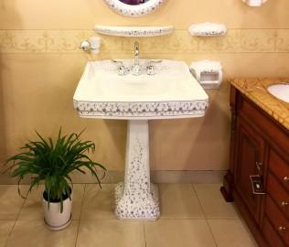 圣托玛斯,洗脸盆,柱盆