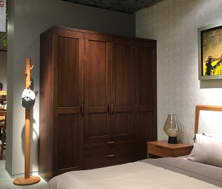 曲美家居,四门衣柜,卧室家具