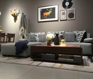 曲美家居,沙发榻,客厅家具